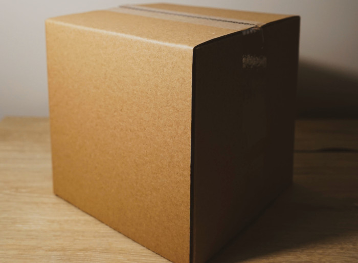Bristol Packing and packaging service page, picture of carboard box